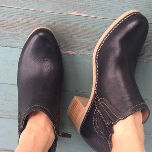Dansko black side zip Chelsea boots